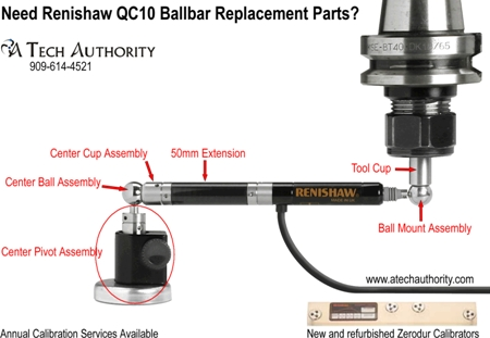Renishaw QC10 Replacement Parts